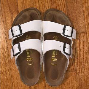 Women's Arizona Leather Double-Βuckle Sandals
